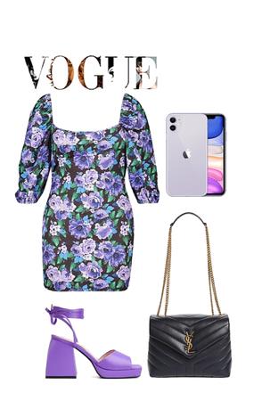 minimal purple 💜