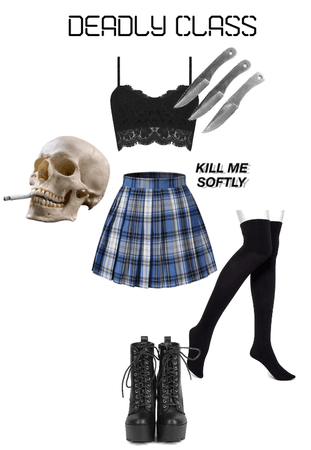 Deadly Class Outfit 11