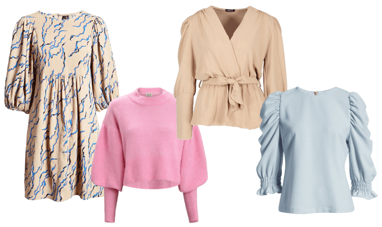 Spring trends - puff sleeves