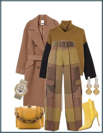 brown /wool coat