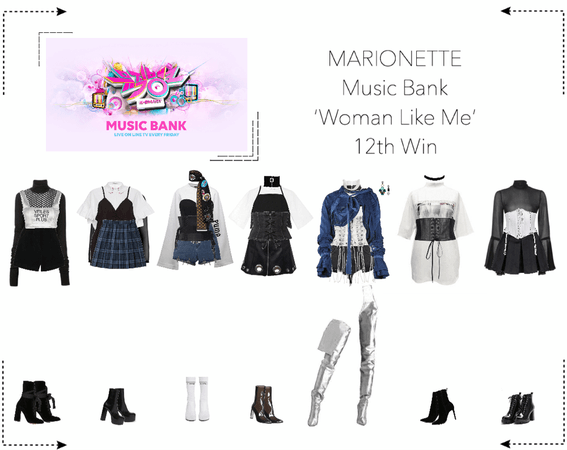 MARIONETTE (마리오네트) [Music Bank] 'Woman Like Me' | 12th win