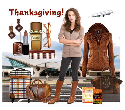 thanksgiving outfit airport