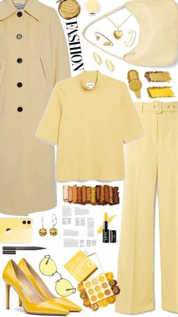 yellow monochrome