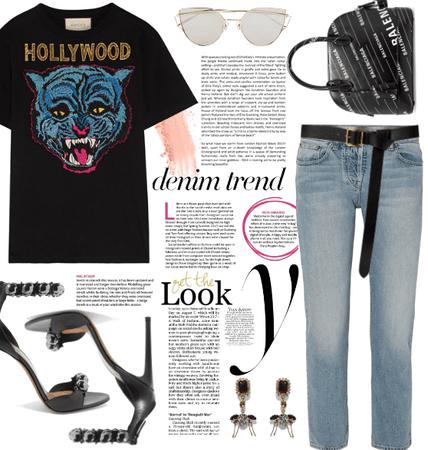 The Hollywood Tiger Shirt.