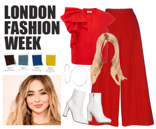 Attending London Fashion Week