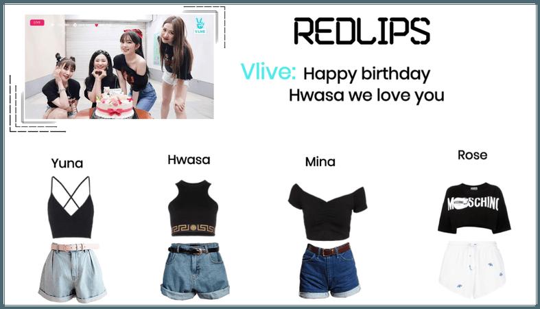 RedLIPS ( 붉은 입술 )  [Hwasa] Birthday