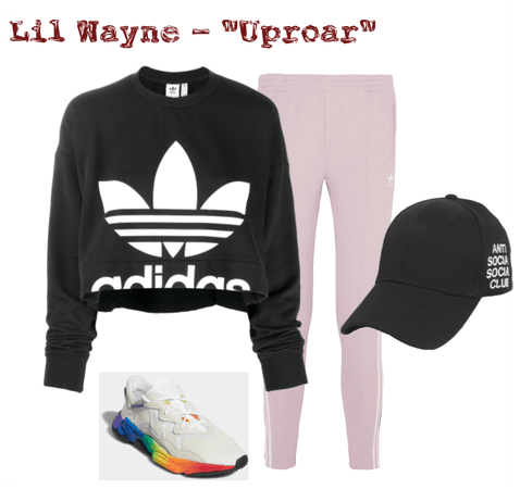 Choreography video outfit