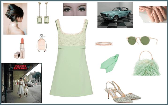 Vintage green: trend 50/60s in a pastel look!
