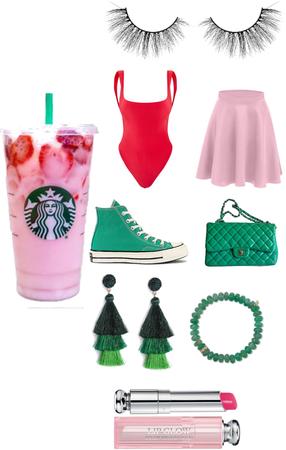 pink drink fit