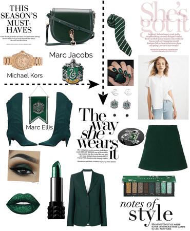 Fancy Slytherin outfit