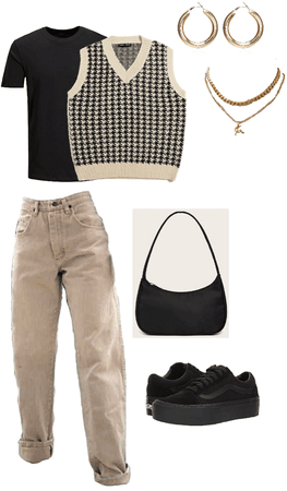 How to Style #2: Houndstooth Vest