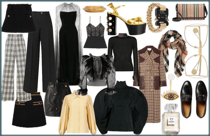 Dapper Dan Fashion Look Collage
