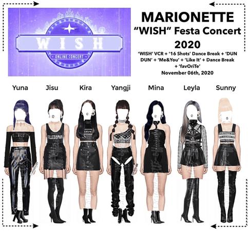 MARIONETTE (마리오네트) 'WISH' Festa Online Concert 2020   ❝𝐖 𝐈 𝐒 𝐇❞ - FESTA 2020