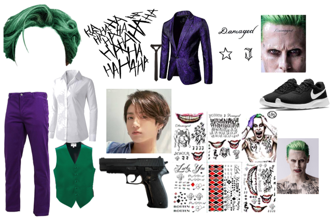 Jungkook the Joker aka puddin