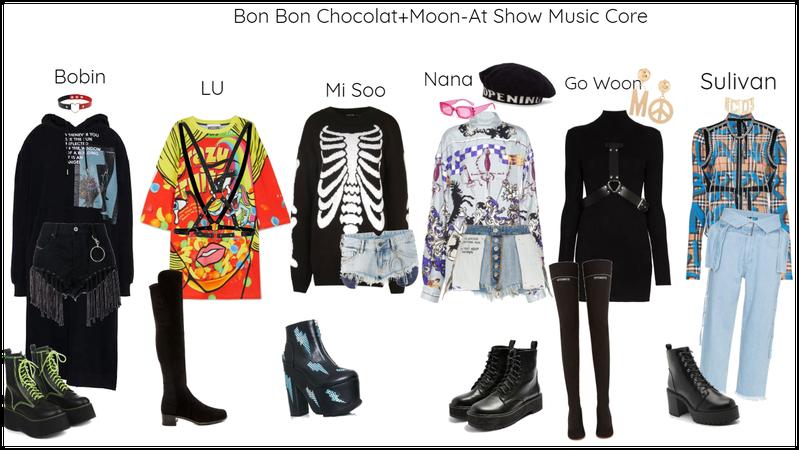 Bon Bon Chocolat+Moon