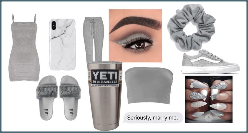 Grey as a person