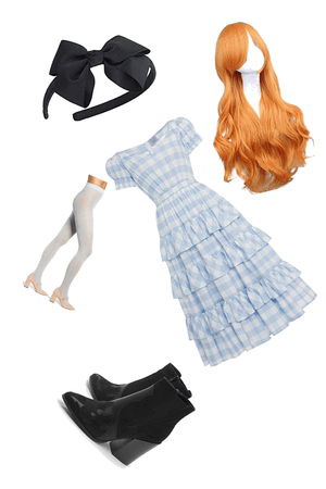 Alice and wonderland outfit