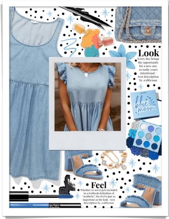 Little Denim Dress 💙
