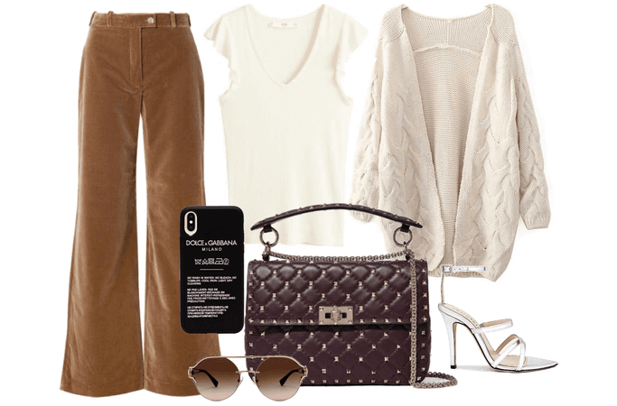 cozy spring outfit