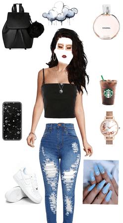 basic girl