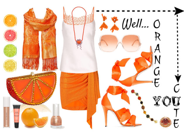 Orange You Cute!