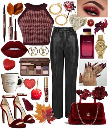 Autumn Maroon
