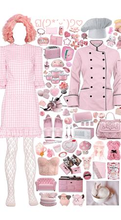 pink chef