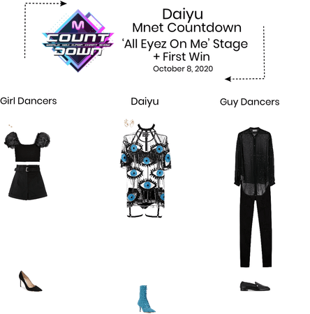 {3D} Daiyu 'All Eyez On Me' M Countdown Stage + First Win