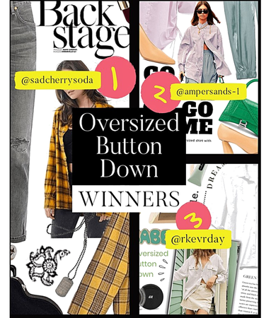 oversized button down WINNERS