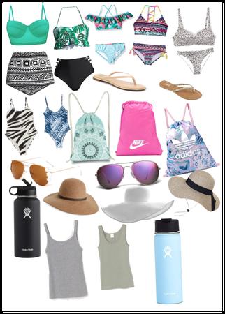 Summer beach/ pool day