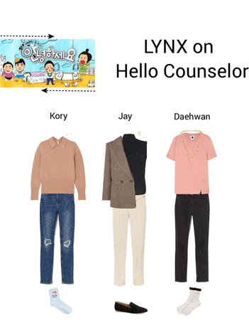 Lynx//Hello Counselor