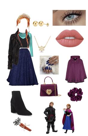 Prom Princess (Disney): Anna 🦌⛄️