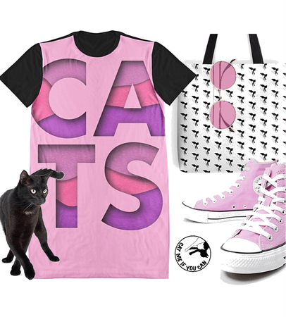 CATS dress by CAT ME IF YOU CAN