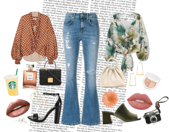 Cutbray Jeans Street Style