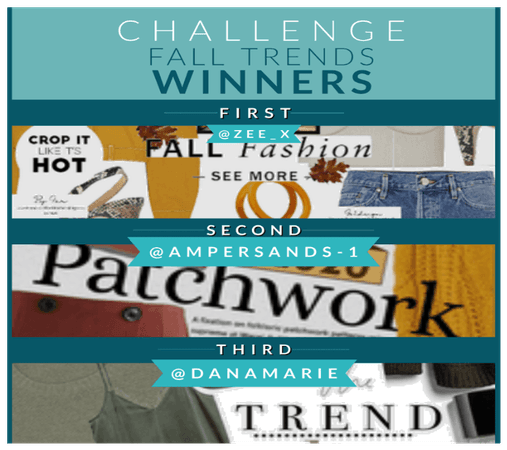 Fall Trends 2020 Winners