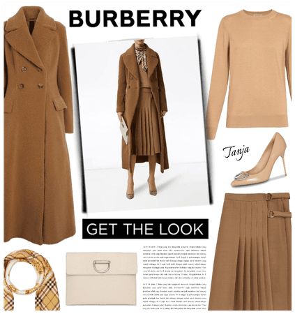 Winter with Burberry
