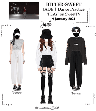BITTER-SWEET [비터스윗] (JADE) Dance Practice 210109