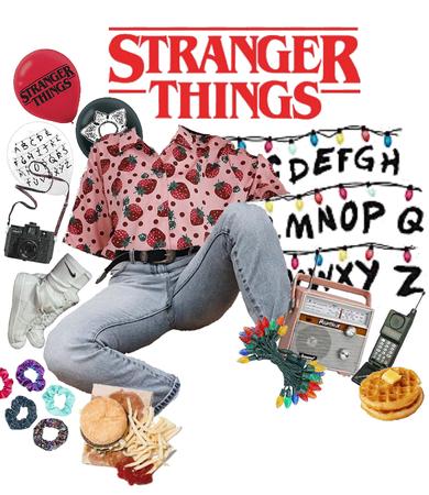 stranger things themed dance