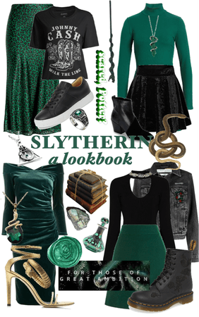 Slytherin Lookbook