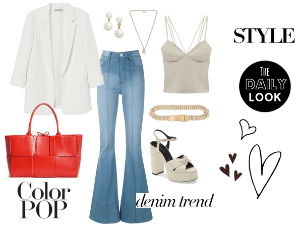 Structured yet Casual Chic