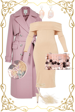 Coat & Dress Outfit