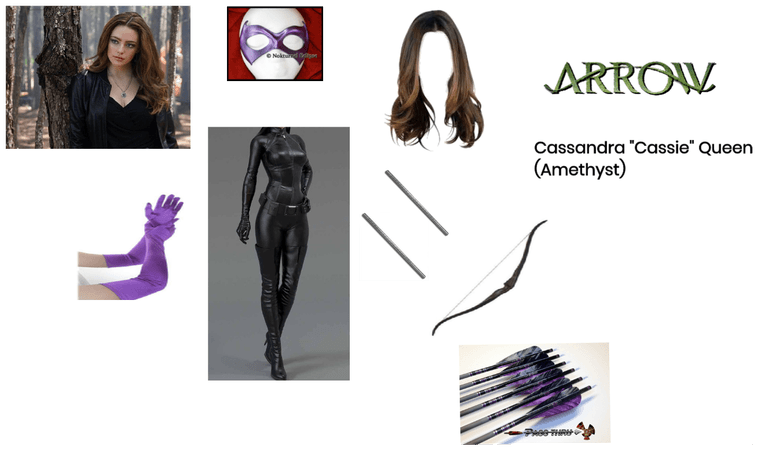 """Arrow: Cassandra """"Cassie"""" Queen (Amethyst)"""