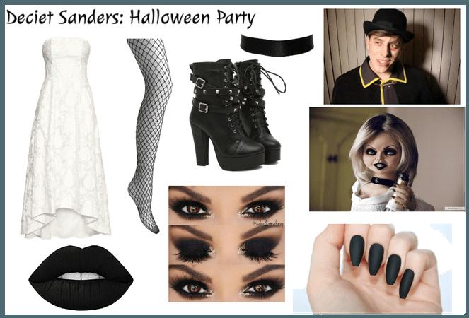 Deceit Sanders: Halloween Party