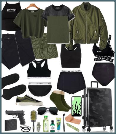 Bianca's suitcase