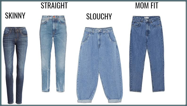 models of women's jeans