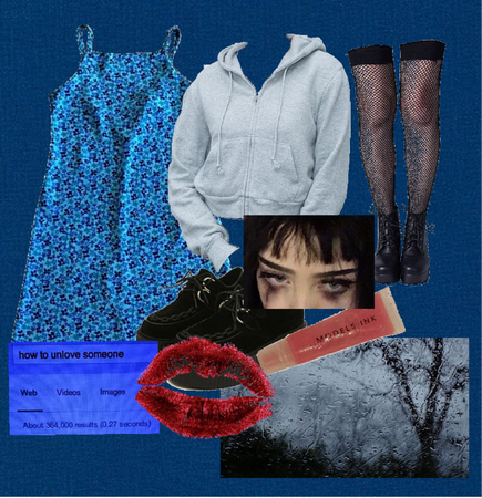 Casual Goth/Grunge