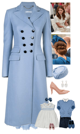The Duchess of Cambridge * Isabella's Christening