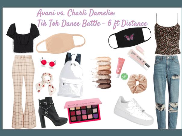 Avani/Charli D'amelio Tik Tok