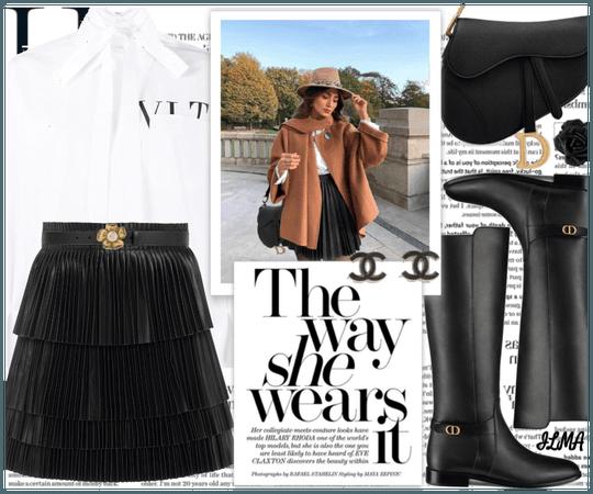 Skirt&Boots