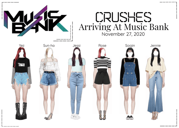 Crushes (호감) Arriving At Music Bank
